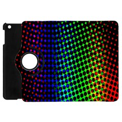 Digitally Created Halftone Dots Abstract Background Design Apple iPad Mini Flip 360 Case