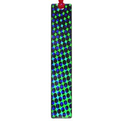 Digitally Created Halftone Dots Abstract Background Design Large Book Marks