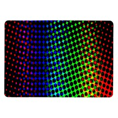 Digitally Created Halftone Dots Abstract Background Design Samsung Galaxy Tab 10.1  P7500 Flip Case