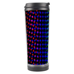 Digitally Created Halftone Dots Abstract Background Design Travel Tumbler