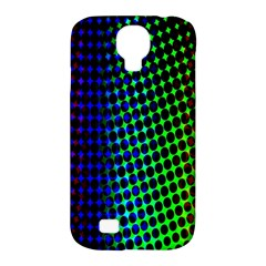 Digitally Created Halftone Dots Abstract Background Design Samsung Galaxy S4 Classic Hardshell Case (pc+silicone)