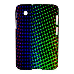 Digitally Created Halftone Dots Abstract Background Design Samsung Galaxy Tab 2 (7 ) P3100 Hardshell Case