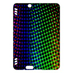 Digitally Created Halftone Dots Abstract Background Design Kindle Fire Hdx Hardshell Case