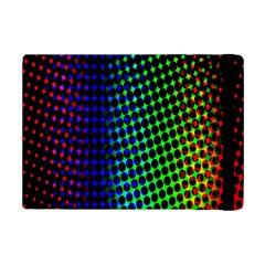 Digitally Created Halftone Dots Abstract Background Design iPad Mini 2 Flip Cases