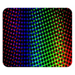 Digitally Created Halftone Dots Abstract Background Design Double Sided Flano Blanket (Small)