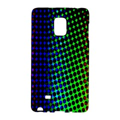 Digitally Created Halftone Dots Abstract Background Design Galaxy Note Edge