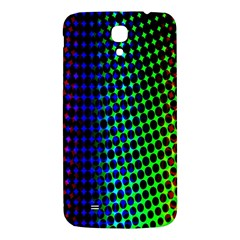 Digitally Created Halftone Dots Abstract Background Design Samsung Galaxy Mega I9200 Hardshell Back Case