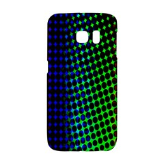 Digitally Created Halftone Dots Abstract Background Design Galaxy S6 Edge