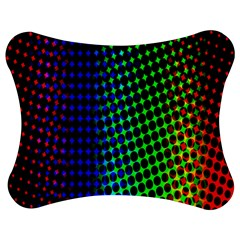Digitally Created Halftone Dots Abstract Background Design Jigsaw Puzzle Photo Stand (bow)