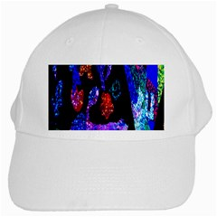 Grunge Abstract In Black Grunge Effect Layered Images Of Texture And Pattern In Pink Black Blue Red White Cap