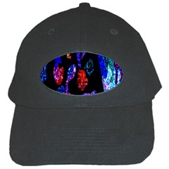 Grunge Abstract In Black Grunge Effect Layered Images Of Texture And Pattern In Pink Black Blue Red Black Cap