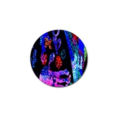 Grunge Abstract In Black Grunge Effect Layered Images Of Texture And Pattern In Pink Black Blue Red Golf Ball Marker