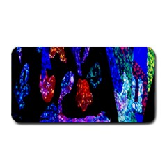 Grunge Abstract In Black Grunge Effect Layered Images Of Texture And Pattern In Pink Black Blue Red Medium Bar Mats