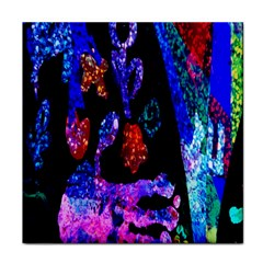 Grunge Abstract In Black Grunge Effect Layered Images Of Texture And Pattern In Pink Black Blue Red Face Towel