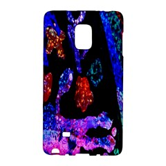 Grunge Abstract In Black Grunge Effect Layered Images Of Texture And Pattern In Pink Black Blue Red Galaxy Note Edge