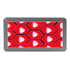 Red Bee Hive Background Memory Card Reader (Mini)