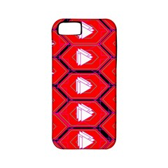 Red Bee Hive Background Apple Iphone 5 Classic Hardshell Case (pc+silicone)
