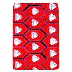 Red Bee Hive Background Flap Covers (s)