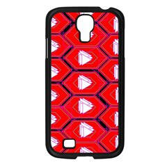 Red Bee Hive Background Samsung Galaxy S4 I9500/ I9505 Case (black)