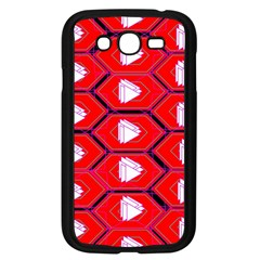 Red Bee Hive Background Samsung Galaxy Grand DUOS I9082 Case (Black)