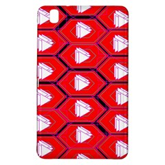 Red Bee Hive Background Samsung Galaxy Tab Pro 8.4 Hardshell Case