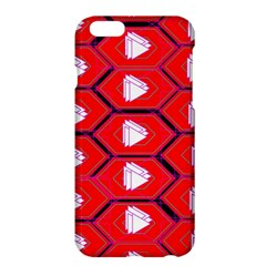 Red Bee Hive Background Apple Iphone 6 Plus/6s Plus Hardshell Case