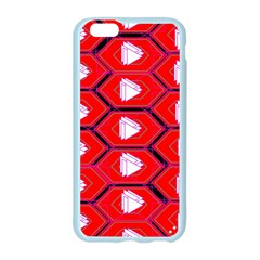 Red Bee Hive Background Apple Seamless iPhone 6/6S Case (Color)
