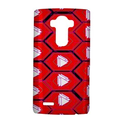 Red Bee Hive Background LG G4 Hardshell Case