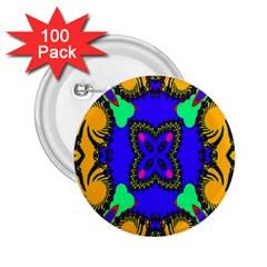 Digital Kaleidoscope 2 25  Buttons (100 Pack)