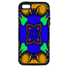 Digital Kaleidoscope Apple Iphone 5 Hardshell Case (pc+silicone)