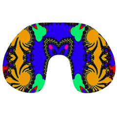 Digital Kaleidoscope Travel Neck Pillows
