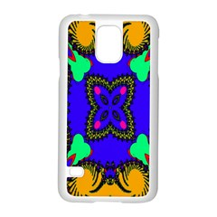 Digital Kaleidoscope Samsung Galaxy S5 Case (White)