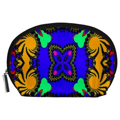 Digital Kaleidoscope Accessory Pouches (large)