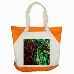 Bright Tropical Background Abstract Background That Has The Shape And Colors Of The Tropics Accent Tote Bag