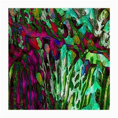 Bright Tropical Background Abstract Background That Has The Shape And Colors Of The Tropics Medium Glasses Cloth