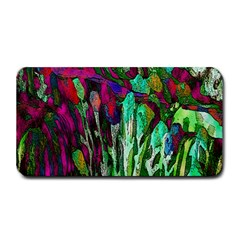 Bright Tropical Background Abstract Background That Has The Shape And Colors Of The Tropics Medium Bar Mats