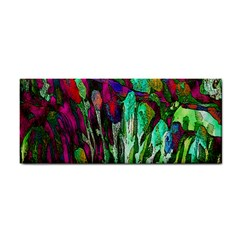 Bright Tropical Background Abstract Background That Has The Shape And Colors Of The Tropics Cosmetic Storage Cases