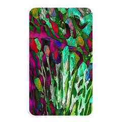 Bright Tropical Background Abstract Background That Has The Shape And Colors Of The Tropics Memory Card Reader