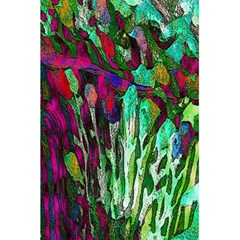 Bright Tropical Background Abstract Background That Has The Shape And Colors Of The Tropics 5 5  X 8 5  Notebooks