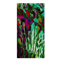 Bright Tropical Background Abstract Background That Has The Shape And Colors Of The Tropics Shower Curtain 36  X 72  (stall)
