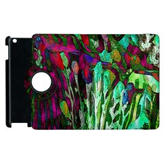 Bright Tropical Background Abstract Background That Has The Shape And Colors Of The Tropics Apple Ipad 3/4 Flip 360 Case