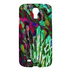Bright Tropical Background Abstract Background That Has The Shape And Colors Of The Tropics Samsung Galaxy S4 I9500/I9505 Hardshell Case