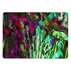 Bright Tropical Background Abstract Background That Has The Shape And Colors Of The Tropics Samsung Galaxy Tab 10.1  P7500 Flip Case