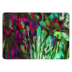 Bright Tropical Background Abstract Background That Has The Shape And Colors Of The Tropics Samsung Galaxy Tab 8.9  P7300 Flip Case