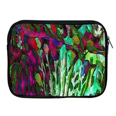 Bright Tropical Background Abstract Background That Has The Shape And Colors Of The Tropics Apple iPad 2/3/4 Zipper Cases