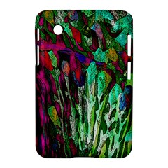 Bright Tropical Background Abstract Background That Has The Shape And Colors Of The Tropics Samsung Galaxy Tab 2 (7 ) P3100 Hardshell Case