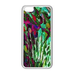 Bright Tropical Background Abstract Background That Has The Shape And Colors Of The Tropics Apple Iphone 5c Seamless Case (white)