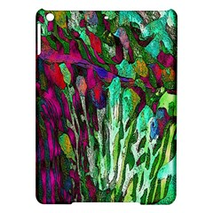 Bright Tropical Background Abstract Background That Has The Shape And Colors Of The Tropics iPad Air Hardshell Cases