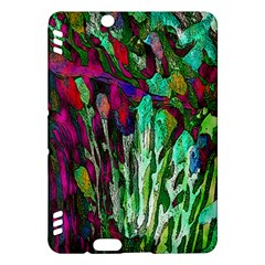 Bright Tropical Background Abstract Background That Has The Shape And Colors Of The Tropics Kindle Fire Hdx Hardshell Case