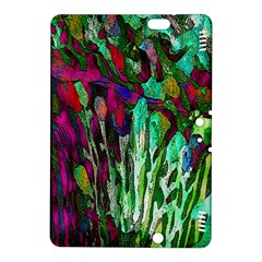 Bright Tropical Background Abstract Background That Has The Shape And Colors Of The Tropics Kindle Fire Hdx 8 9  Hardshell Case